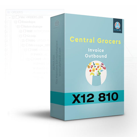 Central Grocers 810 - Invoice Outbound for Infor VISUAL