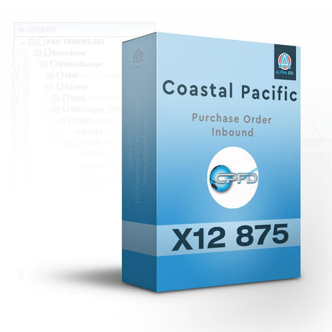 Coastal Pacific 875 - Purchase Order Inbound for Infor VISUAL