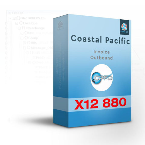 Coastal Pacific 880 - Invoice Outbound for Infor VISUAL