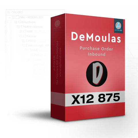 DeMoulas 875 - Purchase Order Inbound for Infor VISUAL