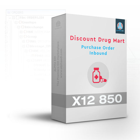Discount Drug Mart 850 Inbound Pack for Infor VISUAL