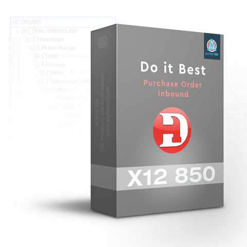 Do It Best 850 Inbound Pack for Infor VISUAL