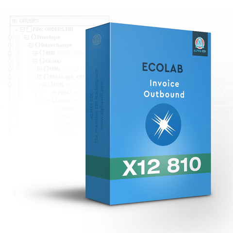 EcoLab 810 - Invoice Outbound for Infor VISUAL