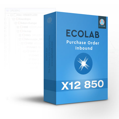 Ecolab 850 - Purchase Order Inbound for Infor VISUAL