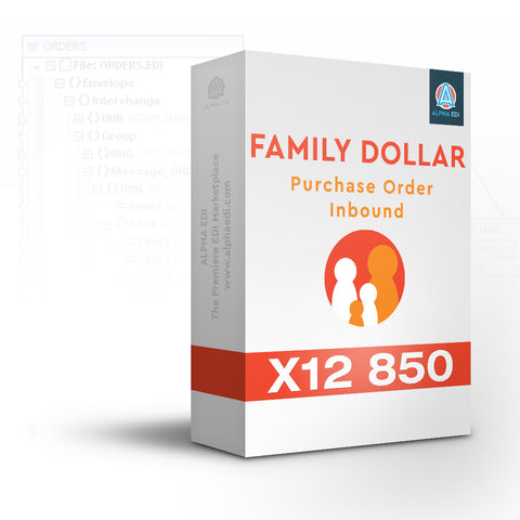 Family Dollar 850 Inbound Pack for Infor VISUAL