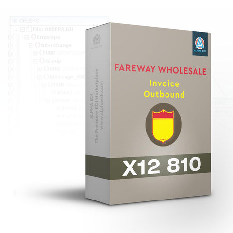 Fareway Wholesale 810 - Invoice Outbound for Infor VISUAL