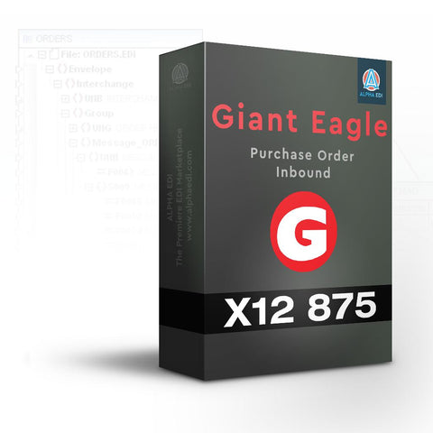Giant Eagle 875 - Purchase Order Inbound for Infor VISUAL