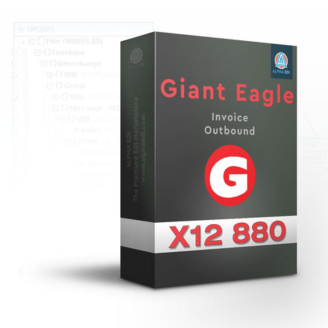 Giant Eagle 880 - Invoice Outbound for Infor VISUAL