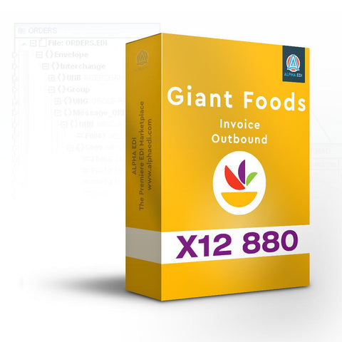 Giant Foods 880 - Invoice Outbound for Infor VISUAL