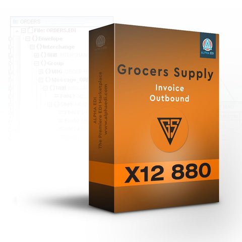 Grocers Supply 880 - Invoice Outbound for Infor VISUAL