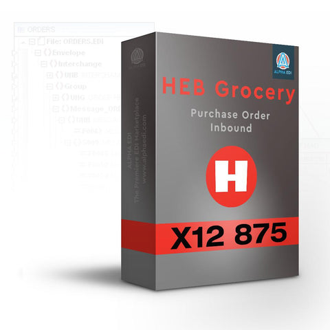 HEB Grocery (H.E. Butt Grocery) 875 - Purchase Order Inbound for Infor VISUAL