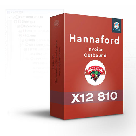 Hannaford 810 - Invoice Outbound for Infor VISUAL