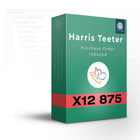 Harris Teeter 875 - Purchase Order Inbound for Infor VISUAL
