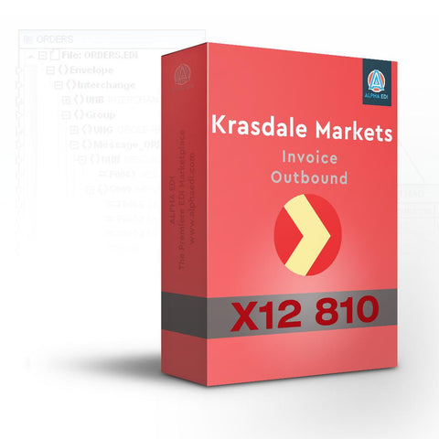 Krasdale Markets 810 - Invoice Outbound for Infor VISUAL