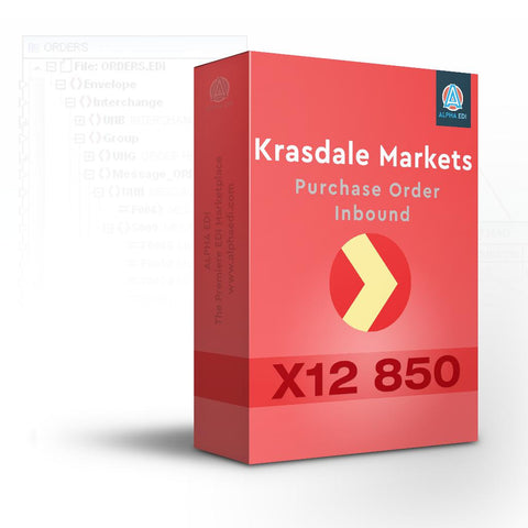Krasdale Markets 850 - Purchase Order Inbound for Infor VISUAL