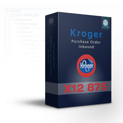 Kroger 875 - Purchase Order Inbound for Infor VISUAL