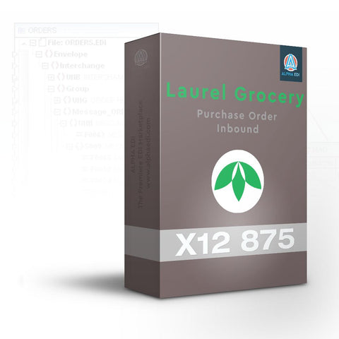 Laurel Grocery 875 - Purchase Order Inbound for Infor VISUAL