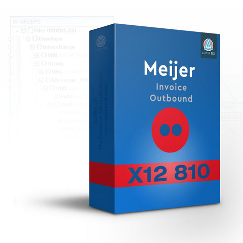 Meijer 810 - Invoice Outbound for Infor VISUAL