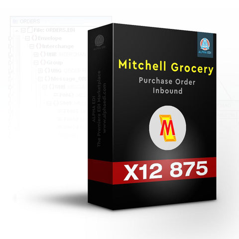 Mitchell Grocery 875 - Purchase Order Inbound for Infor VISUAL