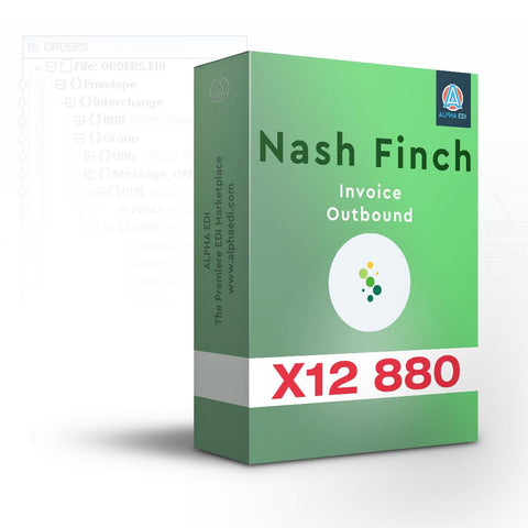 Nash Finch 880 - Invoice Outbound for Infor VISUAL