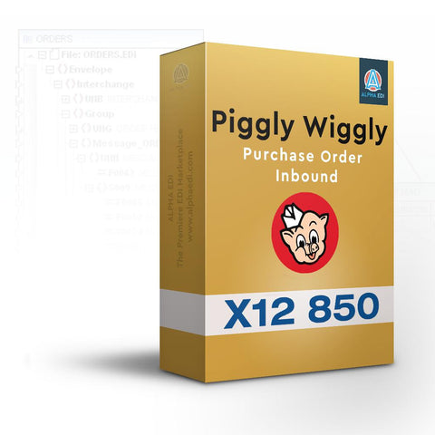 Piggly Wiggly 850 - Purchase Order Inbound for Infor VISUAL
