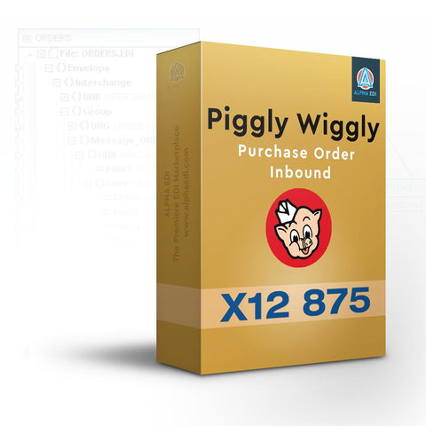 Piggly Wiggly 875 - Purchase Order Inbound for Infor VISUAL