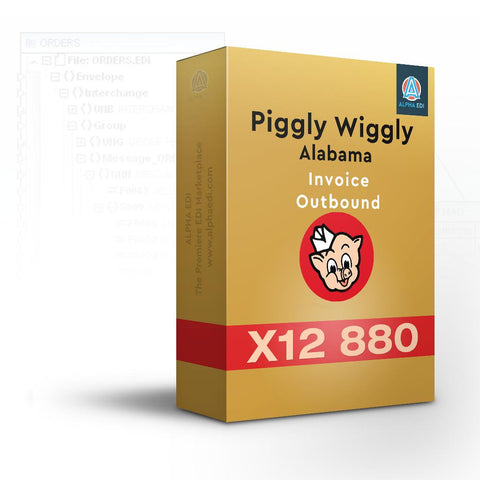 Piggly Wiggly Alabama 880 - Invoice Outbound for Infor VISUAL
