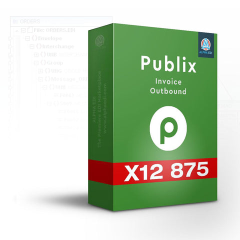Publix 880 - Invoice Outbound for Infor VISUAL