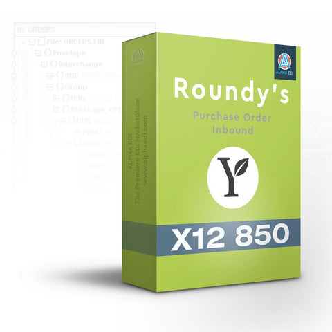 Roundy's 875 - Purchase Order Inbound for Infor VISUAL