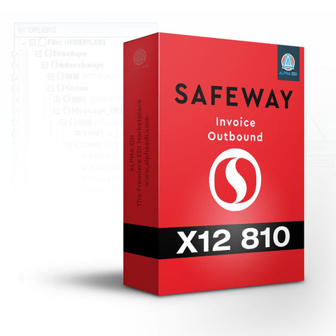 Safeway 810 - Invoice Outbound for Infor VISUAL