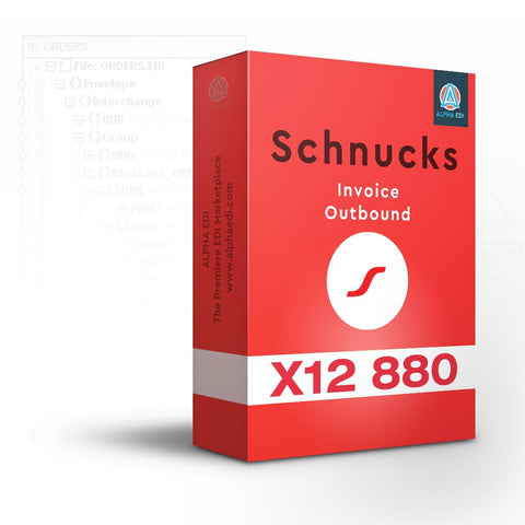 Schnucks 880 - Invoice Outbound for Infor VISUAL