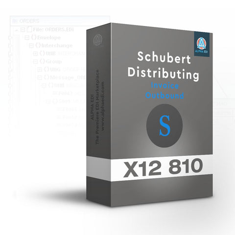 Schubert Distributing 810 - Invoice Outbound for Infor VISUAL