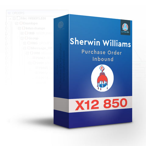 Sherwin Williams 850 - Purchase Order Inbound for Infor VISUAL