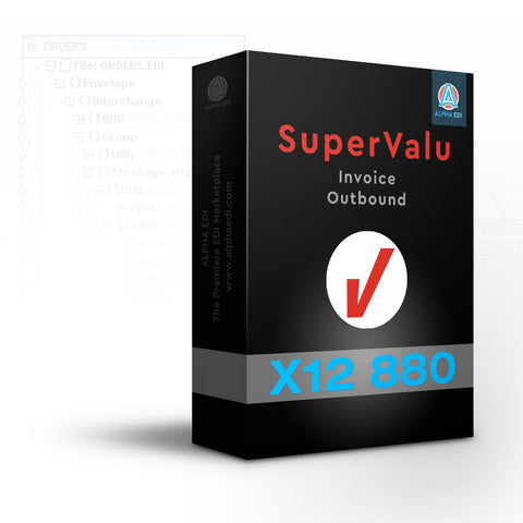 Super Value 880 - Invoice Outbound for Infor VISUAL