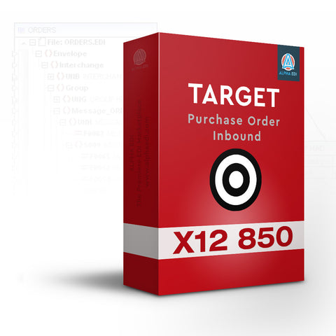 Target 850 - Purchase Order Inbound for Infor VISUAL
