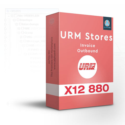 URM Stores 880 - Invoice Outbound for Infor VISUAL