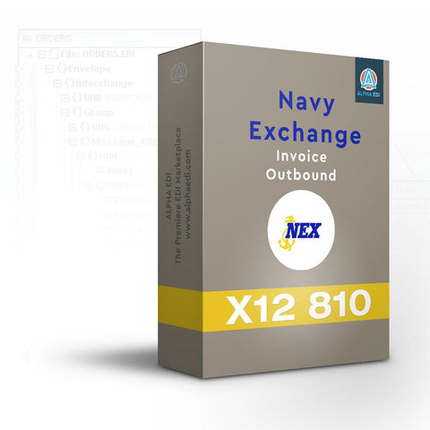 Navy Exchange 810 - Invoice Outbound for Infor VISUAL