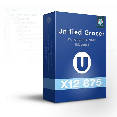 Unified Grocer 875 - Purchase Order Inbound for Infor VISUAL