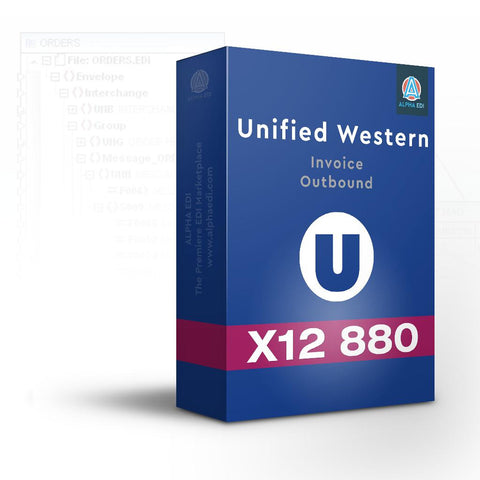 Unified Western 880 - Invoice Outbound for Infor VISUAL