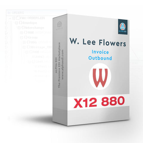 W. Lee Flowers 880 - Invoice Outbound for Infor VISUAL