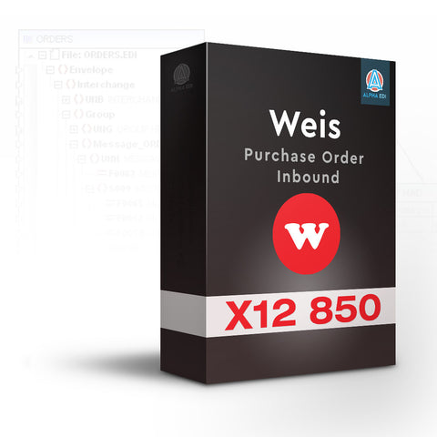 Wakefern 850 - Purchase Order Inbound for Infor VISUAL