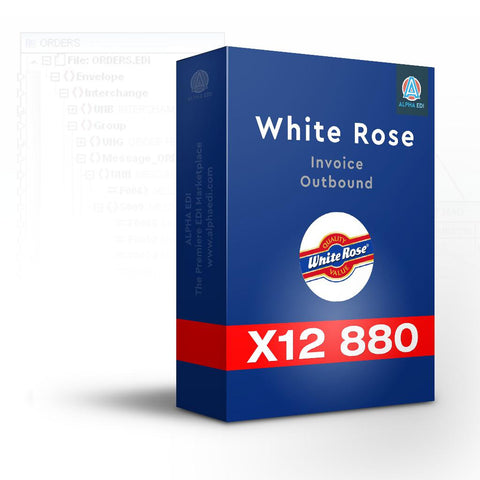 White Rose Foods 880 - Invoice Outbound for Infor VISUAL