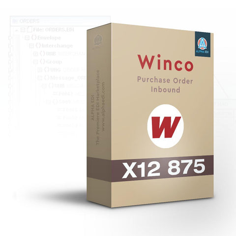 Winco 875 - Purchase Order Inbound for Infor VISUAL