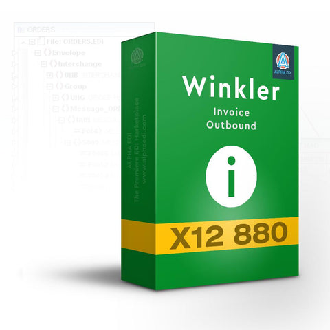 Winkler 880 - Invoice Outbound for Infor VISUAL