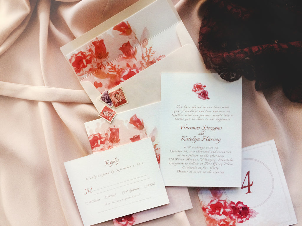 5 Tips for Writing Your Wedding Invitations