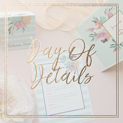 Menus, Table Numbers, Seating Charts, Favour Tags, Place Cards and More - KEEKS WEDDINGS