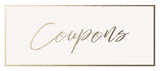 Coupons for your Keeks Paper Co. order!