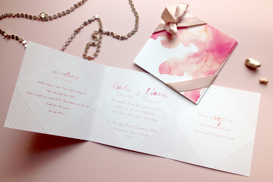Cotton Candy Invite