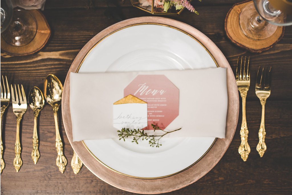 Divine Placecards and Menus