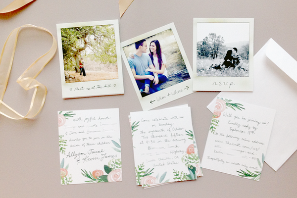 Polaroid Invitations